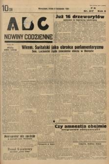 ABC : nowiny codzienne. 1935, nr317