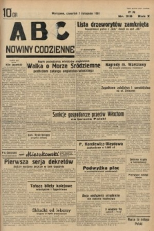 ABC : nowiny codzienne. 1935, nr318