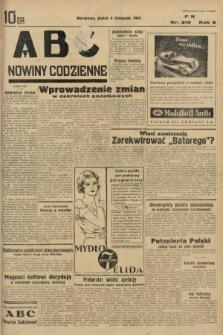 ABC : nowiny codzienne. 1935, nr319