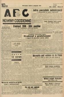 ABC : nowiny codzienne. 1935, nr320