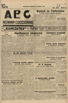 ABC : nowiny codzienne. 1935, nr321