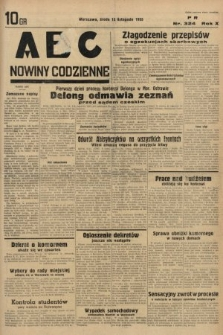 ABC : nowiny codzienne. 1935, nr324