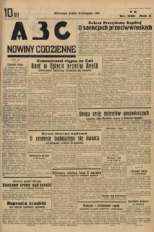 ABC : nowiny codzienne. 1935, nr326
