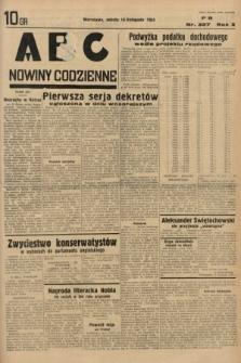 ABC : nowiny codzienne. 1935, nr327