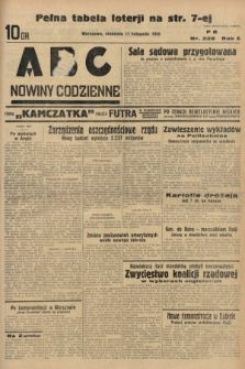 ABC : nowiny codzienne. 1935, nr328