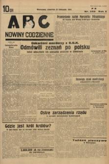 ABC : nowiny codzienne. 1935, nr332