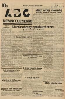 ABC : nowiny codzienne. 1935, nr337