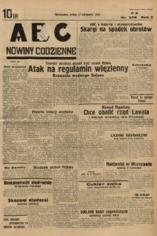 ABC : nowiny codzienne. 1935, nr338
