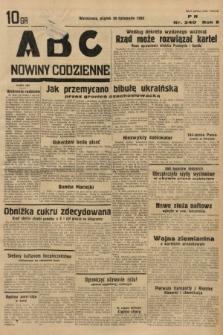 ABC : nowiny codzienne. 1935, nr340