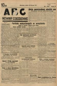 ABC : nowiny codzienne. 1935, nr341