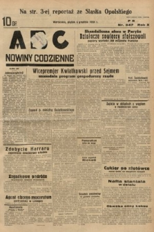 ABC : nowiny codzienne. 1935, nr347