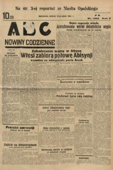 ABC : nowiny codzienne. 1935, nr352