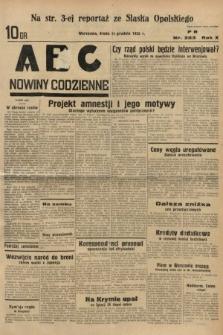 ABC : nowiny codzienne. 1935, nr353