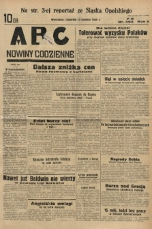 ABC : nowiny codzienne. 1935, nr354