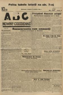ABC : nowiny codzienne. 1935, nr357