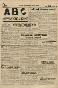 ABC : nowiny codzienne. 1935, nr358