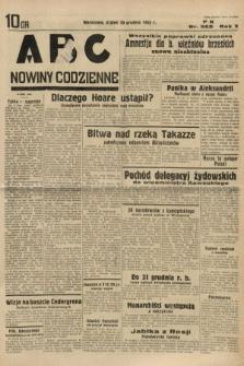 ABC : nowiny codzienne. 1935, nr362