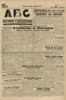 ABC : nowiny codzienne. 1935, nr363