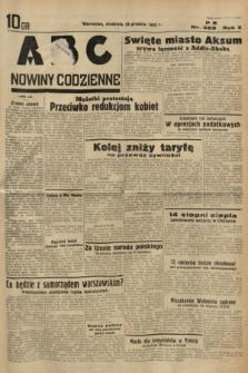 ABC : nowiny codzienne. 1935, nr369
