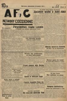 ABC : nowiny codzienne. 1935, nr370