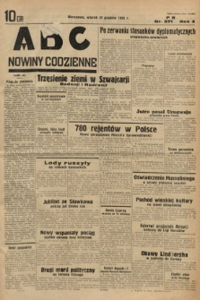 ABC : nowiny codzienne. 1935, nr371