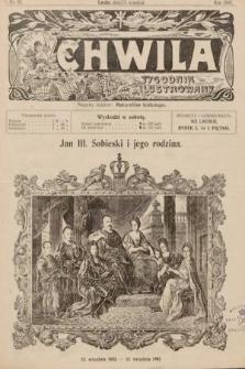 Chwila : tygodnik ilustrowany. 1907, nr28