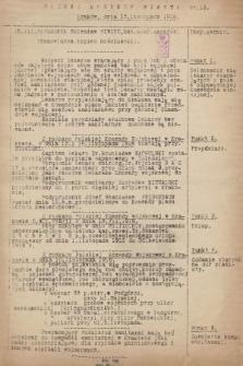 Rozkaz Komendy Miasta. 1918, nr13
