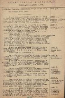Rozkaz Komendy Miasta. 1918, nr29