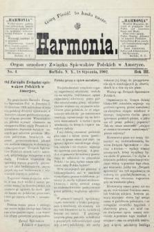 Harmonia : organ urzędowy Związku Śpiewaków Polskich w Ameryce. R. 3, 1902, nr4