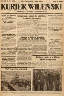Kurjer Wileński : niezależny dziennik demokratyczny. 1935, nr177