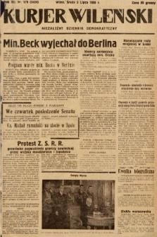 Kurjer Wileński : niezależny dziennik demokratyczny. 1935, nr179