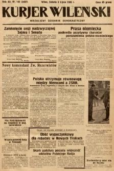 Kurjer Wileński : niezależny dziennik demokratyczny. 1935, nr182