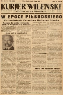 Kurjer Wileński : niezależny dziennik demokratyczny. 1935, nr183