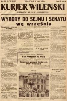 Kurjer Wileński : niezależny dziennik demokratyczny. 1935, nr192