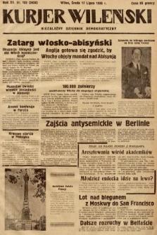 Kurjer Wileński : niezależny dziennik demokratyczny. 1935, nr193
