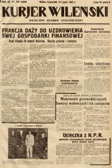 Kurjer Wileński : niezależny dziennik demokratyczny. 1935, nr194