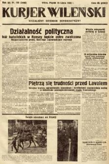 Kurjer Wileński : niezależny dziennik demokratyczny. 1935, nr195