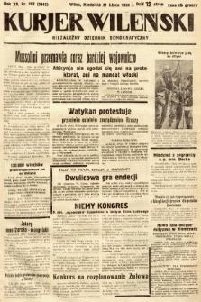 Kurjer Wileński : niezależny dziennik demokratyczny. 1935, nr197