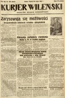 Kurjer Wileński : niezależny dziennik demokratyczny. 1935, nr202