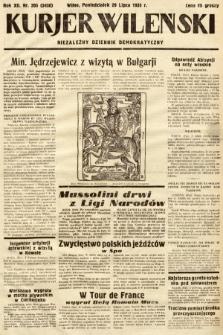 Kurjer Wileński : niezależny dziennik demokratyczny. 1935, nr205