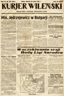Kurjer Wileński : niezależny dziennik demokratyczny. 1935, nr206