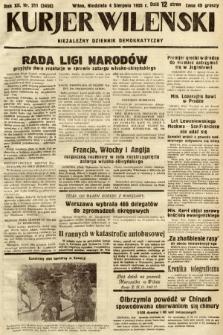 Kurjer Wileński : niezależny dziennik demokratyczny. 1935, nr211