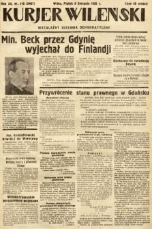 Kurjer Wileński : niezależny dziennik demokratyczny. 1935, nr216