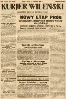 Kurjer Wileński : niezależny dziennik demokratyczny. 1935, nr221