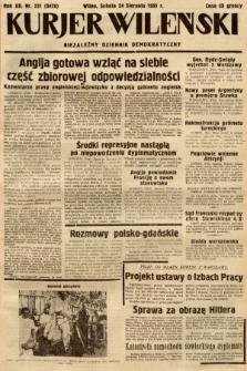 Kurjer Wileński : niezależny dziennik demokratyczny. 1935, nr231