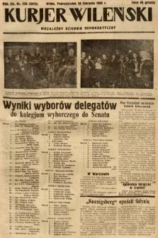 Kurjer Wileński : niezależny dziennik demokratyczny. 1935, nr233