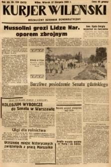 Kurjer Wileński : niezależny dziennik demokratyczny. 1935, nr234