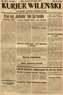 Kurjer Wileński : niezależny dziennik demokratyczny. 1935, nr236
