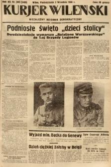 Kurjer Wileński : niezależny dziennik demokratyczny. 1935, nr240