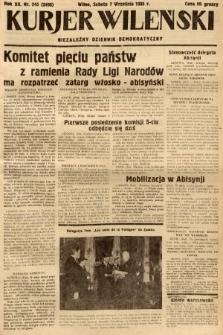 Kurjer Wileński : niezależny dziennik demokratyczny. 1935, nr245